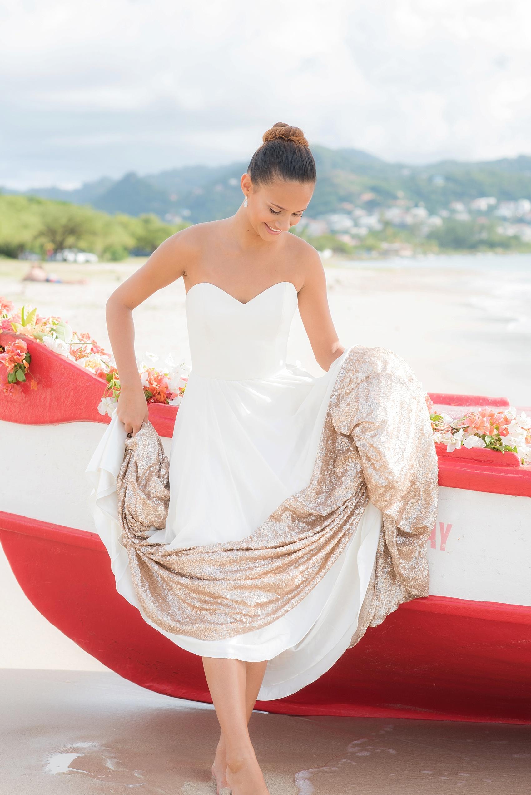 St Lucia Wedding Photos Destination Beach Elopement