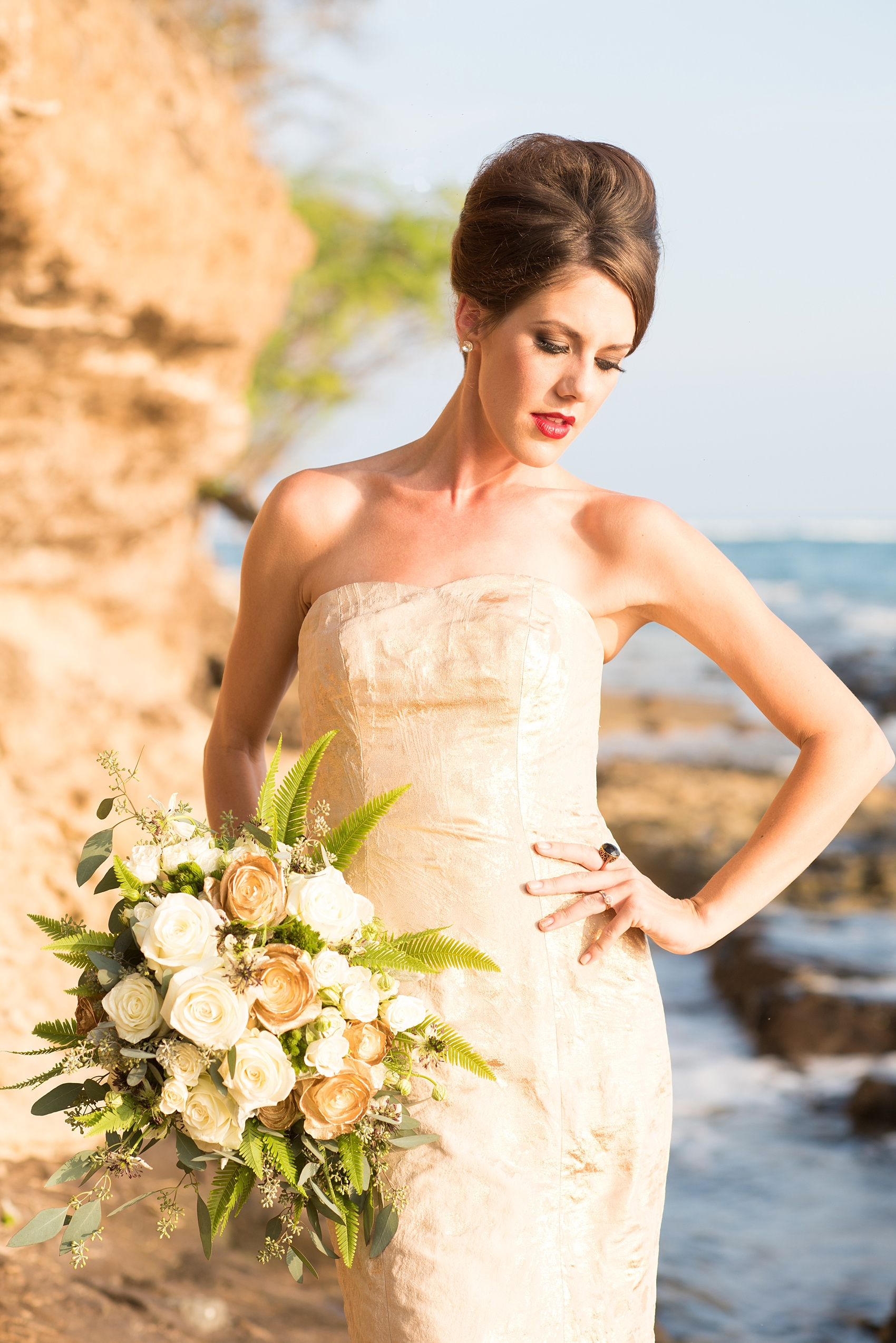 Hawaii Bride Beach Photos Oahu Sunset Raleigh And NYC