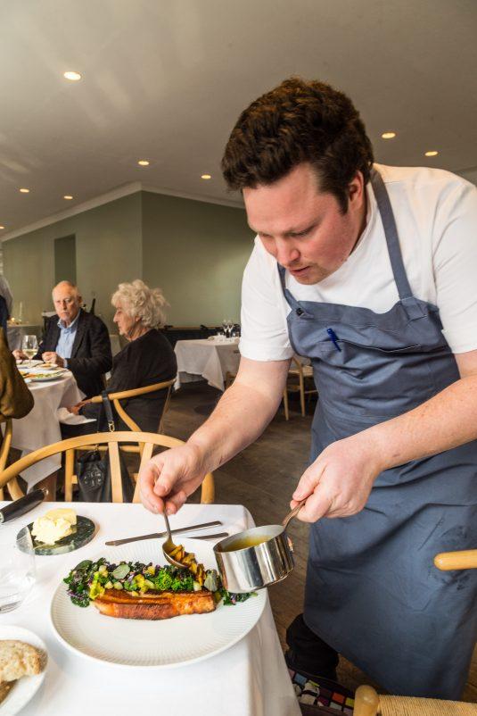 Jeppe Foldager på Restaurant Kanalen - Mikkel Bækgaards Madblog