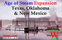 Age of Steam Expansion — Texas, Oklahoma & New Mexico