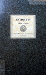 Antiquity cover