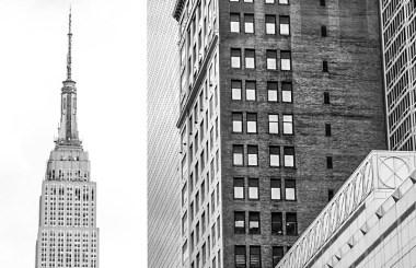 New York Architecture, B&W