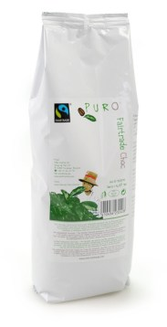 1 kilo Puro Fairtrade Belgian Hot Chocolate