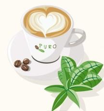 Puro Fairtrade økologisk kaffe