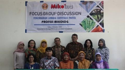 Focus Group Discussion Lembaga Sertifikasi Profesi – Profesi Mikolog
