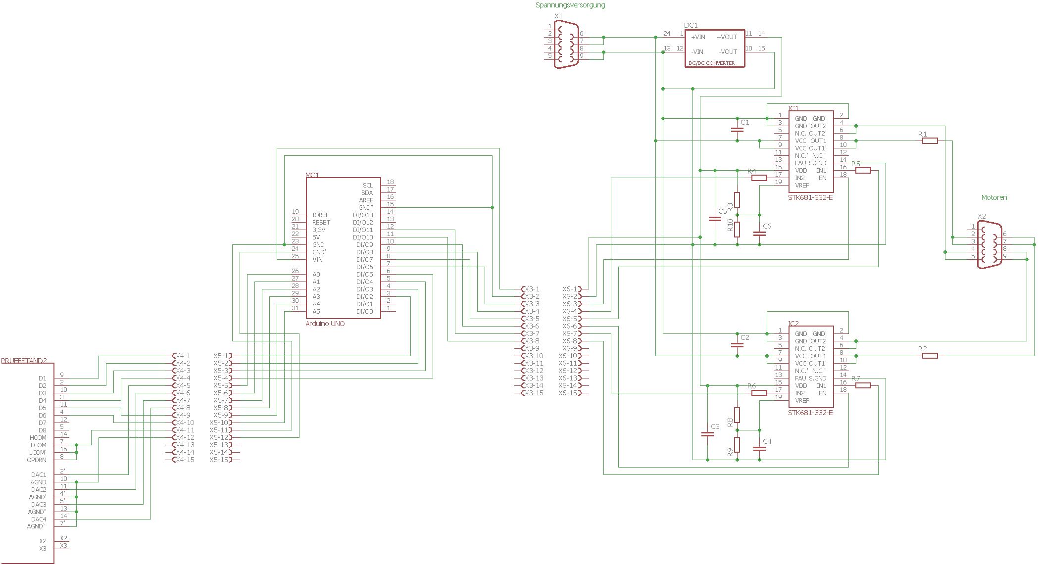 Zuckende Dc Motoren Bei Ansteuerung Mit H Brucke Pwm Und