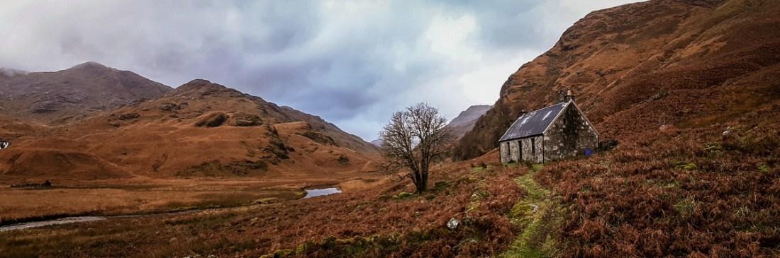 Szkocja bothies
