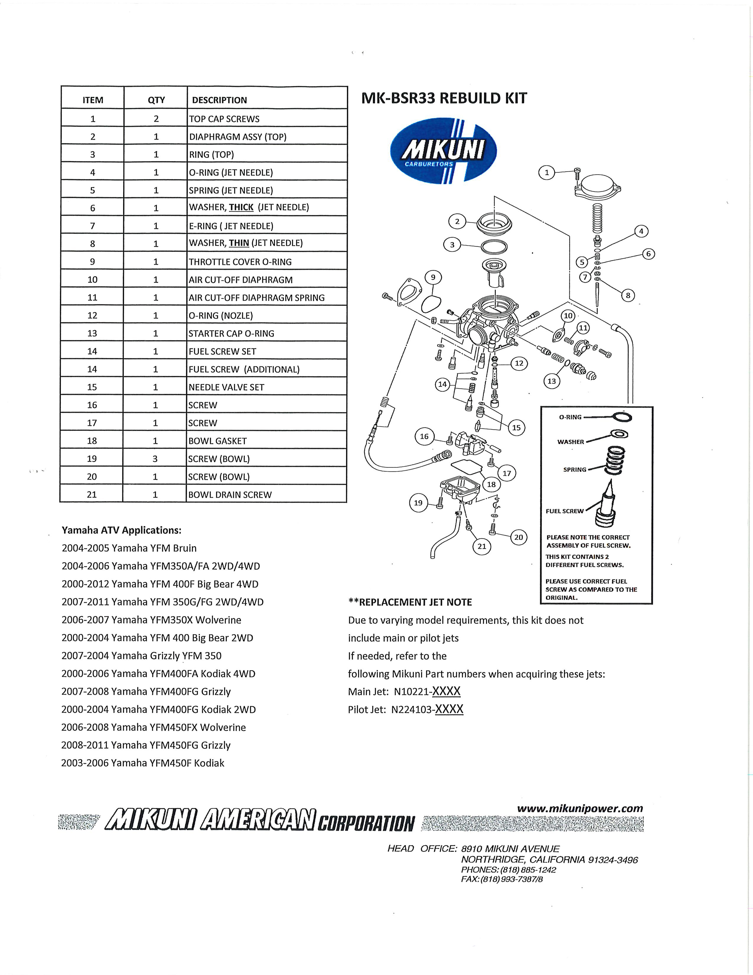 Yamaha Wolverine Owners Manual Yfm 45 Fxv