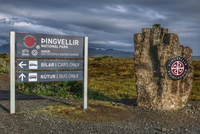 Golden Circle - Parque nacional Þingvellir
