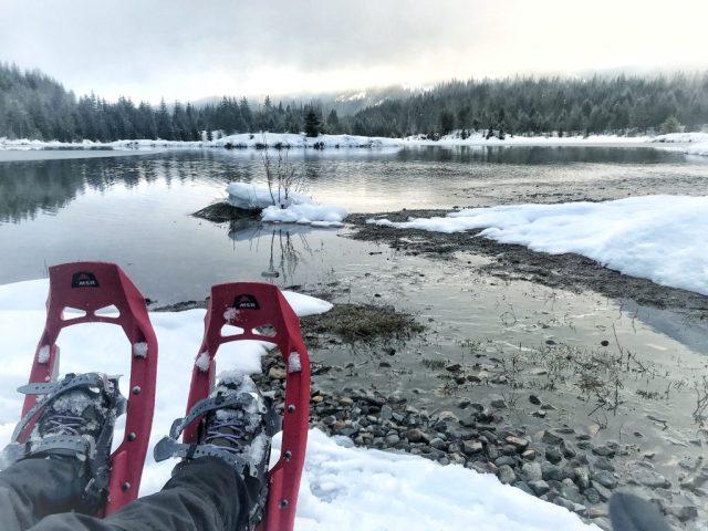 Snowshoe perto de Seattle