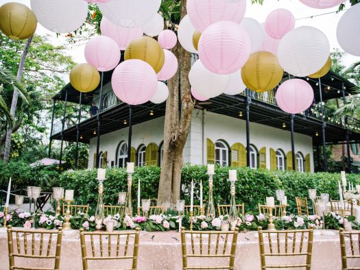 How to save on wedding decor
