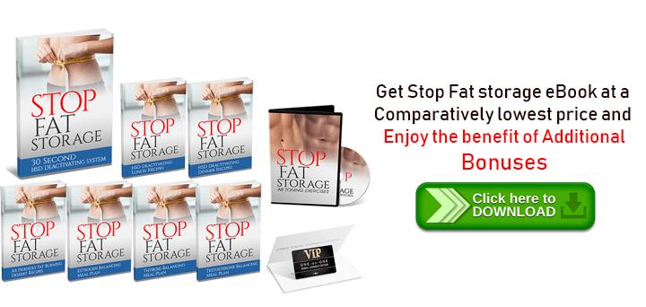 Stop Fat Storage Free Trial
