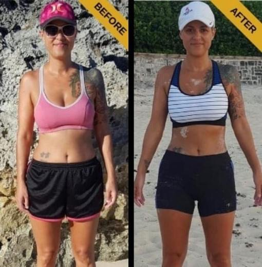 Fight Body Formula Before and After