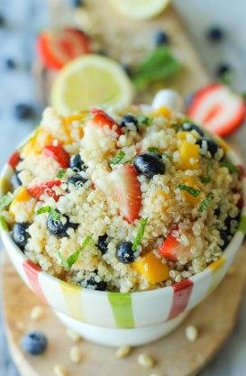 Quinoa Salad with Fruit
