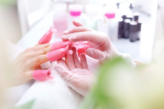 trimming your nails short