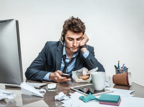stress in work