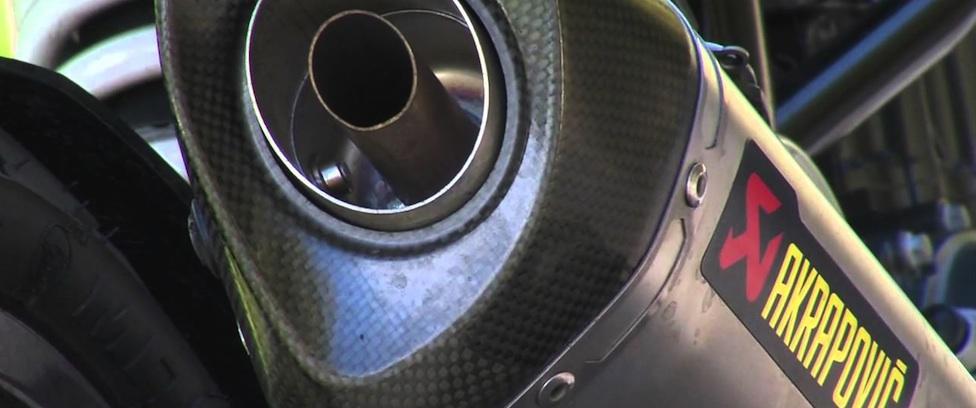 KTM 125 Duke Akrapovic sound