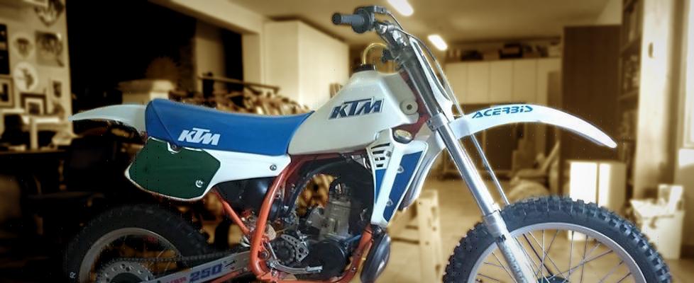 KTM 250 MX – 1984
