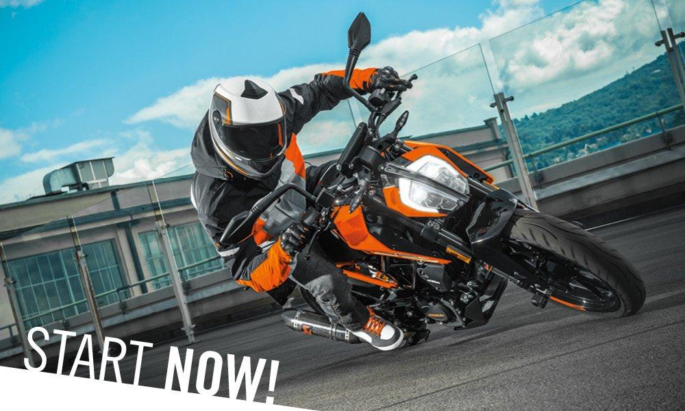 Promozione – KTM 125 Duke a 90 € al mese