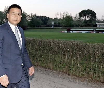 Yonghong Li, presidente del Milan