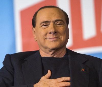 L'ex presidente del Milan, Silvio Berlusconi