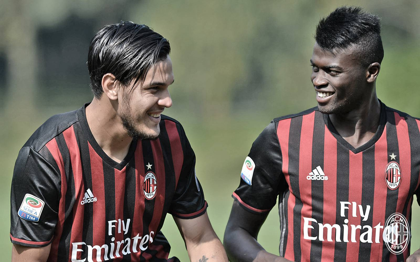 Gustavo Gomez e M'Baye Niang, insieme al Milan nella stagione 2016/2017