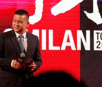 L'ex presidente del Milan Yonghong Li