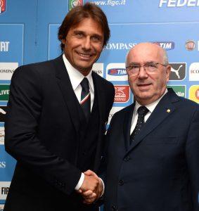 Antonio Conte e Carlo Tavecchio