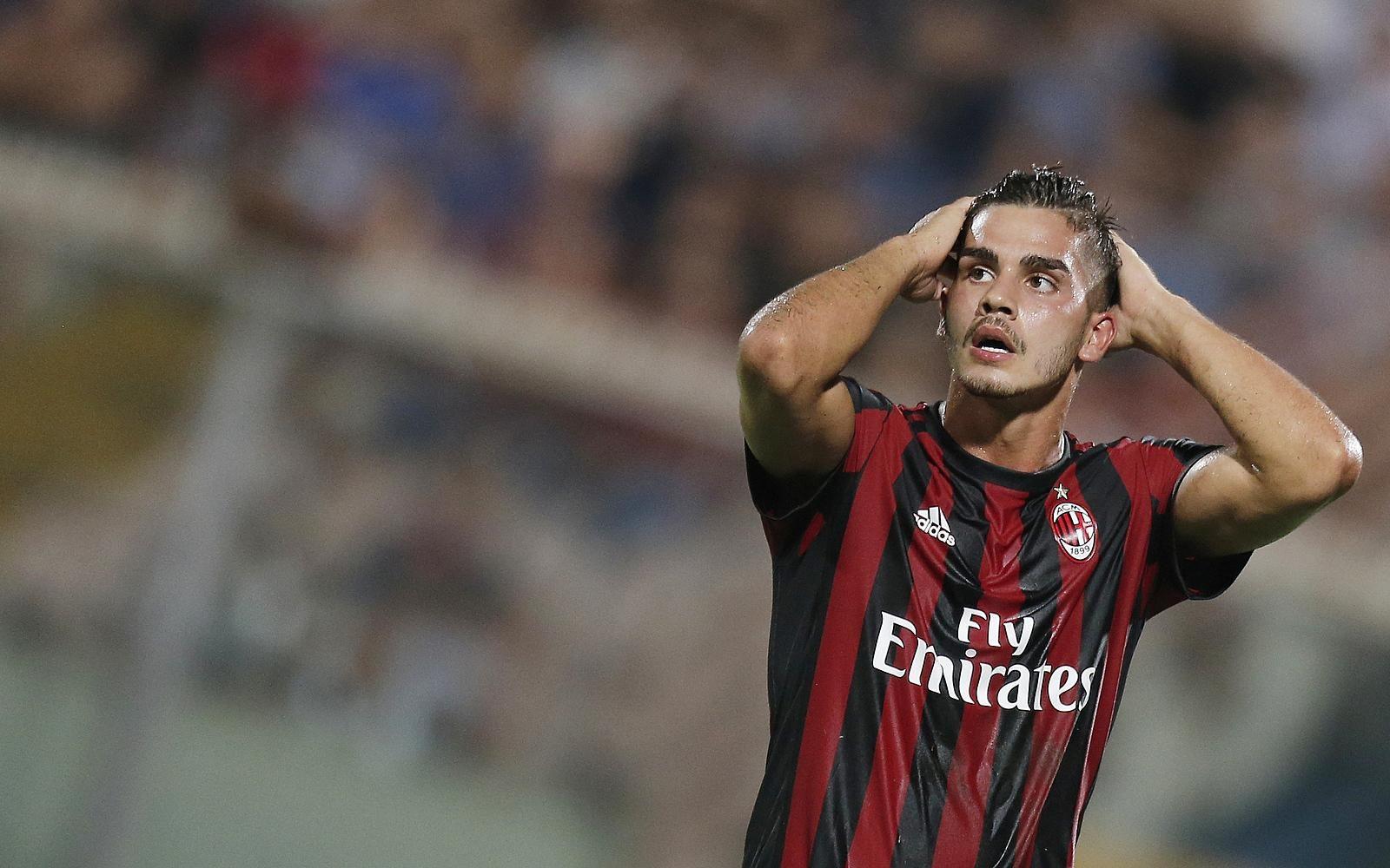 L'attaccante del Milan André Silva, considerato un predestinato