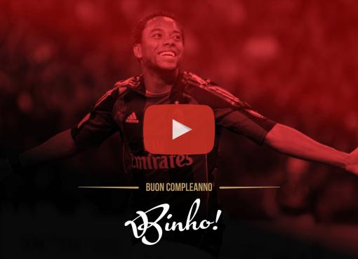 Un video speciale per celebrare il 34esimo compleanno di Robson de Souza Santos, meglio conosciuto come Robinho