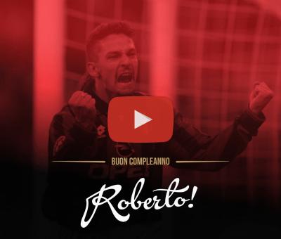 Un video speciale per festeggiare il 51esimo compleanno di Roberto Baggio