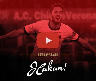 Un video speciale per festeggiare il 24esimo compleanno di Hakan Calhanoglu