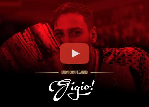 Un video speciale per festeggiare il 19esimo compleanno di Gigio Donnarumma.