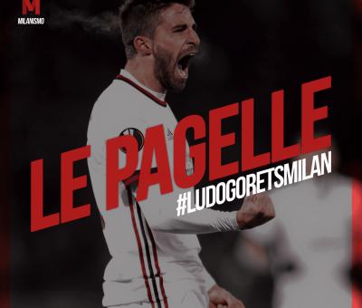 Le pagelle rossonere di Ludogrets-Milan, andata dei sedicesimi di Europa League conclusa sul risultato di 0-3