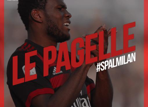 Le pagelle rossonere di Spal-Milan, match della 24° di A concluso sul risutlato di 0-4