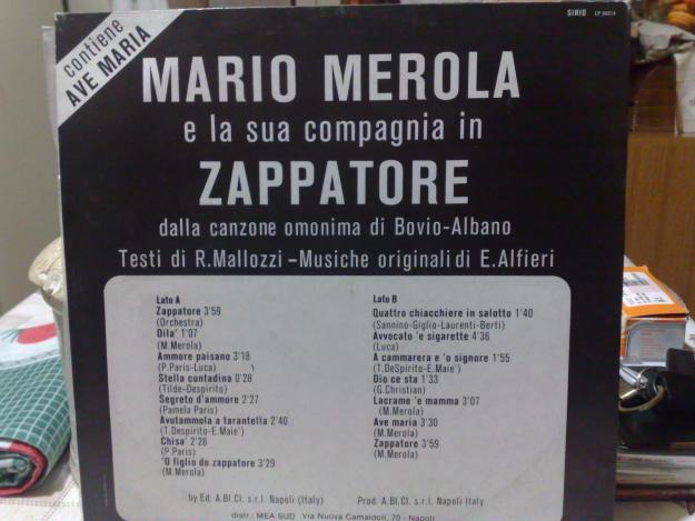 mario merola e Zapata