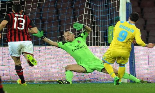 SSC Napoli v AC Milan – Serie A
