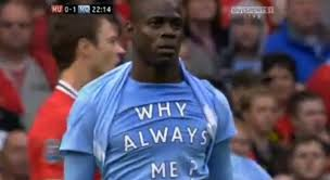 why always me
