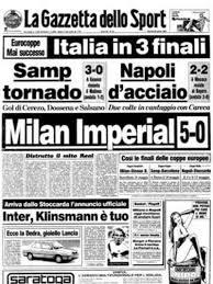 Milan Real Madrid 5-0