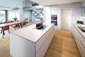 Kuche Weiss Holz Modern   Best Home Ideas 2020 ...