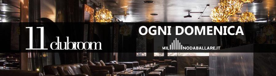 Eleven 11 Clubroom Milano Ogni Domenica
