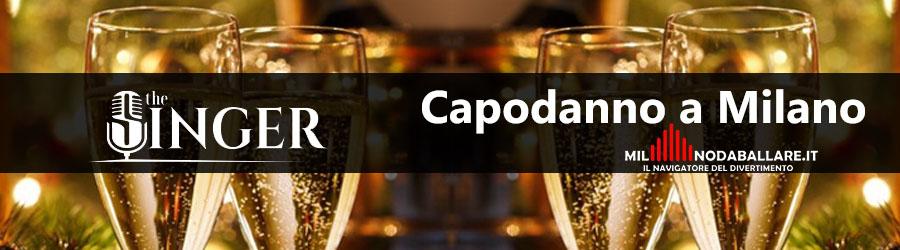 The Singer Milano Capodanno 2020