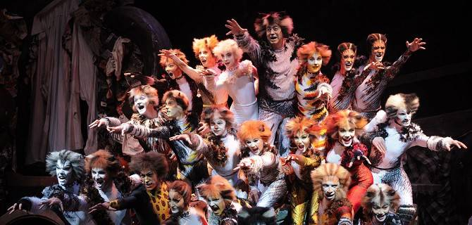Cats in scena a Milano