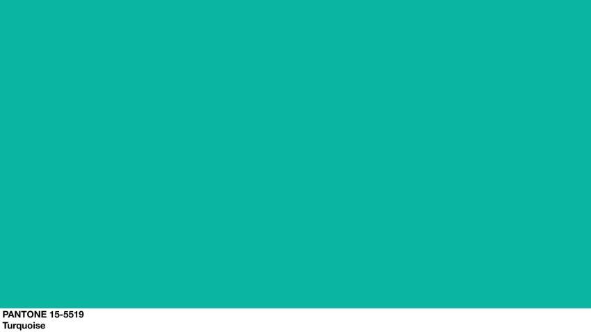 PANTONE 15-5519 Turquoise