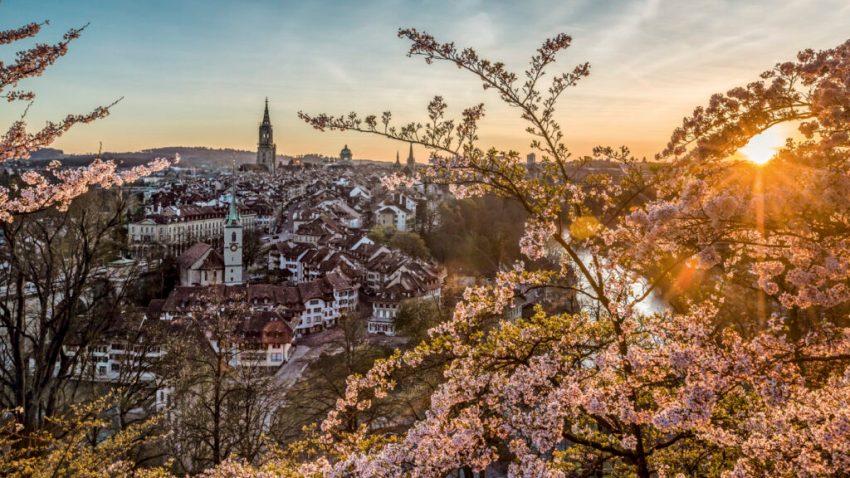 Berna, città piena di fiabeschi giardini. Svizzera