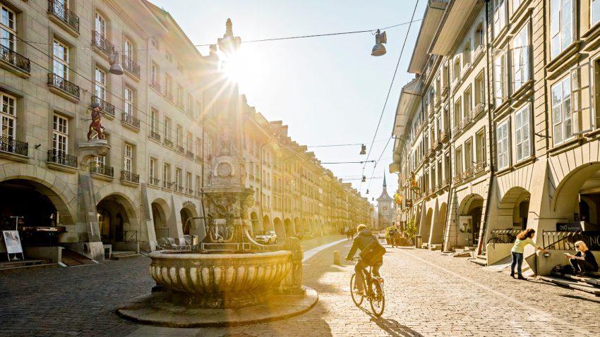 Berna, uno scorcio della città