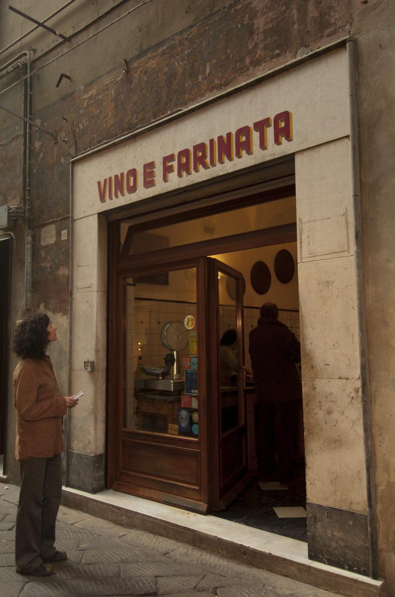 Savona, Vino e farinata