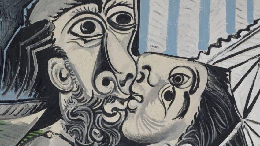 """Picasso, """"Il bacio"""""""