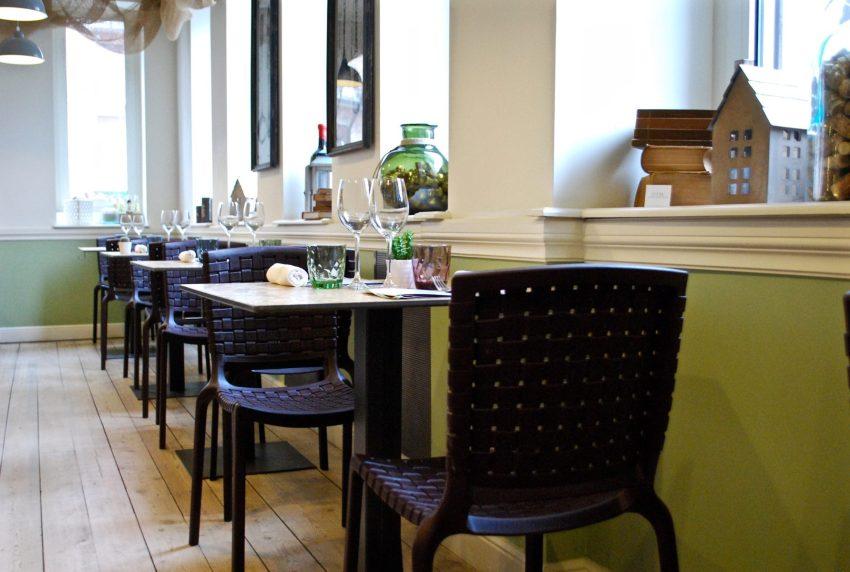 L'ala bistrot del ristorante Olei, perfetta per la pausa pranzo