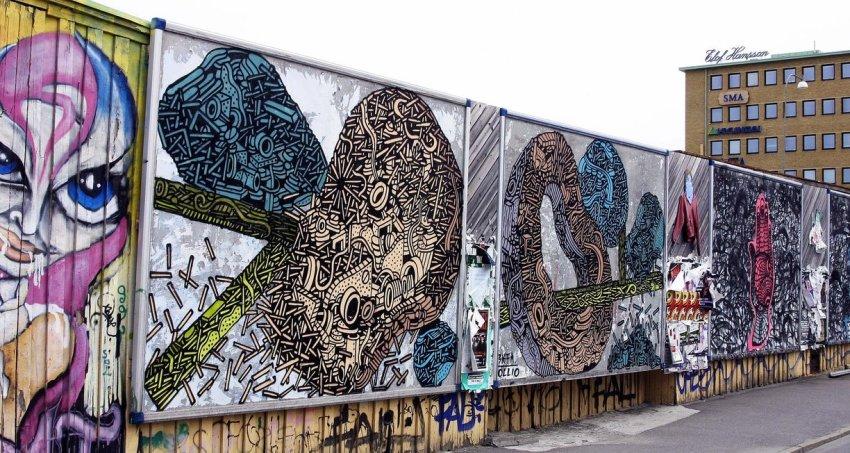 Street art a Göteborg